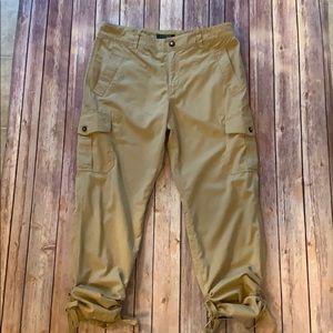 Lauren Ralph Lauren cinched leg cargo pants sz 12